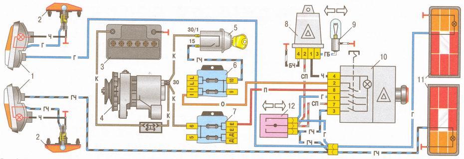 4 - генератор;