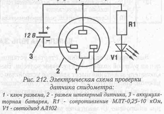 стрекоза 6 датчик спидометра